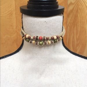 2 Rope Boho Hippy Chokers